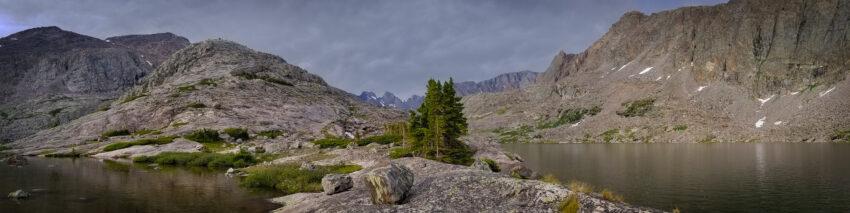 Middle Cloud Peak Lake