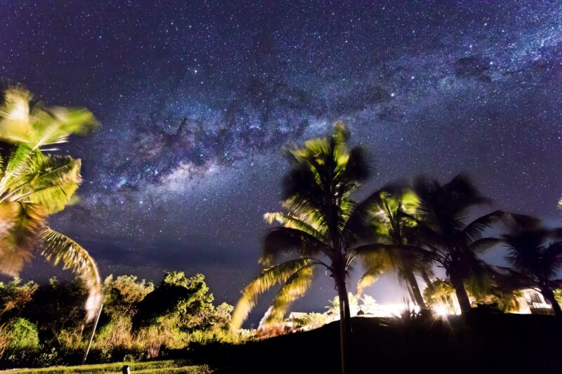 South Pacific stars at the Dreamview Villas, Fiji.