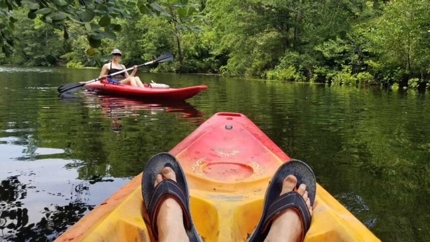 Finger Lakes State Park Kayaking