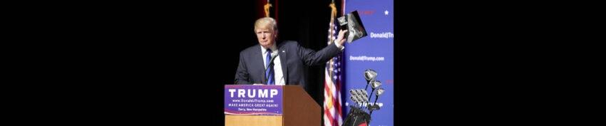 trump bone spurs holding up image