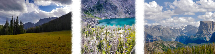 Wyoming hike to Twin Lakes, Shirley Lake, Valaite Lake, and Lake Gadsby in Wind River Range