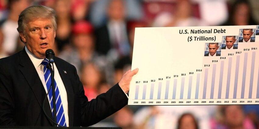 trump king of debt