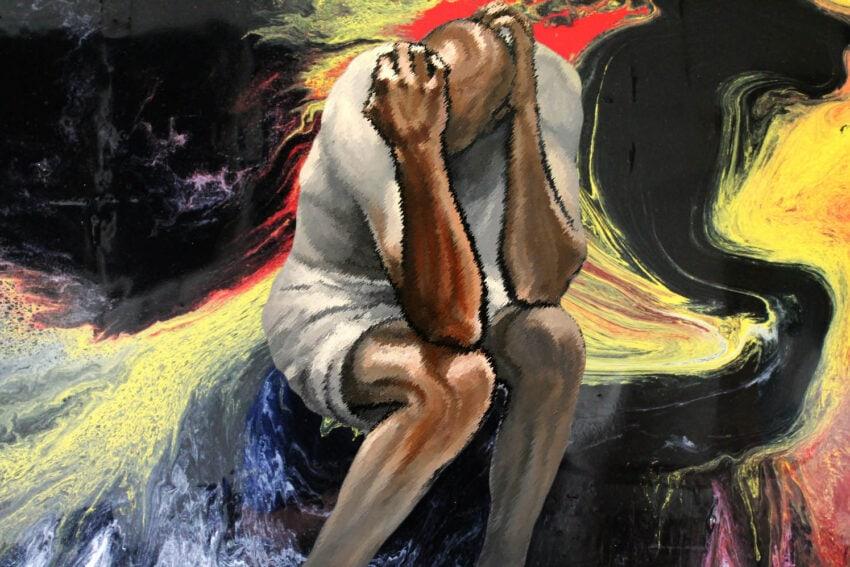 a portrait of turmoil