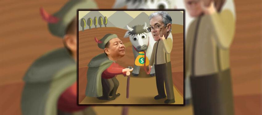 Trump xi Jinping Jpow Jerome Powell MMT