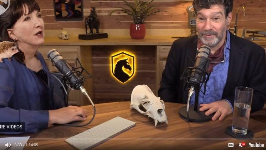 jo jorgensen on the dark horse podcast with bret weinstein