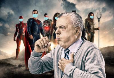 superspreader supervillain comic masked superheroes