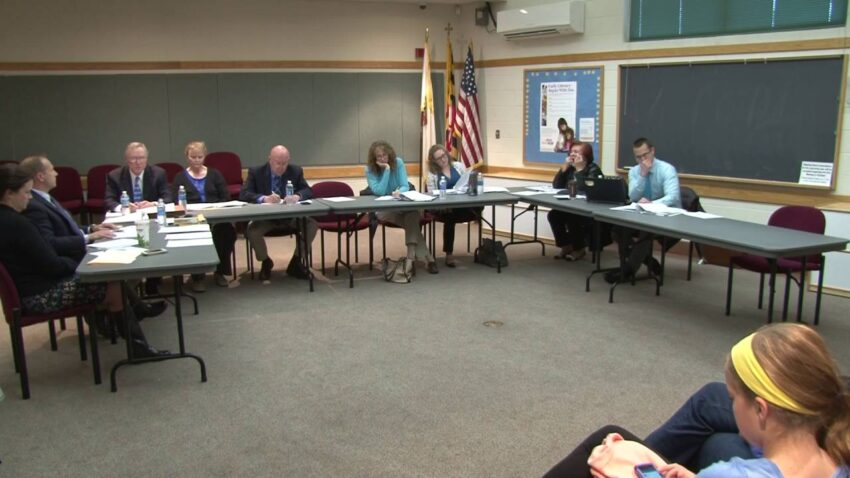 school board meeting pronouns